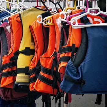 Спасательные жилеты для водного туризма