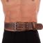 Пояс атлетический кожаный VELO VL-8181 (ширина-6in (15см), р-р M-XXL длина 110-125см, с подкладкой для спины) 0