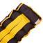 Утяжелители-манжеты для рук и ног наборной вес 5кг UR TA-5387-5 (2 x 2,5кг) (верх-PL, наполн.-песок, желтый) 0