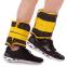 Утяжелители-манжеты для рук и ног наборной вес 5кг UR TA-5387-5 (2 x 2,5кг) (верх-PL, наполн.-песок, желтый) 2