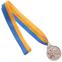 Медаль спортивная с лентой Бокс d-5см C-4337(металл, d-5см, 28g золото, серебро, бронза) 4