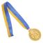 Медаль спортивная с лентой двухцветная d-6,5см Единоборства C-4853 (металл,покр. 2тона, 56g золото, серебро, бронза) 2
