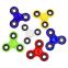 Спиннер Fidget Spinner FI-6366 (пластик, металл, ABEC7, цвета в ассортименте) 9