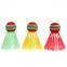 Воланы для бадминтона пластиковые (3шт) в блистере BD-3323 (разноцветный) 0