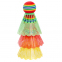 Воланы для бадминтона пластиковые (3шт) в блистере BD-3323 (разноцветный) 2