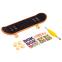 Фингерборд-мини скейт 12-20-13600 (1фингерборд, 4зап.колеса, 1ключ-отвер,наклейки,пластик,металл) 0