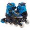 Роликовые коньки раздвижные в наборе защита, шлем, сумка JINGFENG SK-180 (колесо-PU, р-р 31-38, цвета в ассортименте) 2