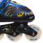 Роликовые коньки раздвижные в наборе защита, шлем, сумка JINGFENG SK-180 (колесо-PU, р-р 31-38, цвета в ассортименте) 6