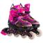 Роликовые коньки раздвижные в наборе защита, шлем, сумка JINGFENG SK-180 (колесо-PU, р-р 31-38, цвета в ассортименте) 23