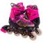 Роликовые коньки раздвижные в наборе защита, шлем, сумка JINGFENG SK-180 (колесо-PU, р-р 31-38, цвета в ассортименте) 24