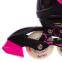 Роликовые коньки раздвижные в наборе защита, шлем, сумка JINGFENG SK-180 (колесо-PU, р-р 31-38, цвета в ассортименте) 27