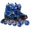Роликовые коньки раздвижные в наборе защита, шлем, сумка JINGFENG SK-170 (31-42) (PL, PVC, колесо PU светящ., алюм., цвета в ассортименте) 1