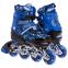 Роликовые коньки раздвижные в наборе защита, шлем, сумка JINGFENG SK-170 (31-42) (PL, PVC, колесо PU светящ., алюм., цвета в ассортименте) 2