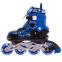 Роликовые коньки раздвижные в наборе защита, шлем, сумка JINGFENG SK-170 (31-42) (PL, PVC, колесо PU светящ., алюм., цвета в ассортименте) 4
