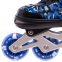 Роликовые коньки раздвижные в наборе защита, шлем, сумка JINGFENG SK-170 (31-42) (PL, PVC, колесо PU светящ., алюм., цвета в ассортименте) 5