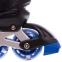 Роликовые коньки раздвижные в наборе защита, шлем, сумка JINGFENG SK-170 (31-42) (PL, PVC, колесо PU светящ., алюм., цвета в ассортименте) 6