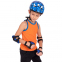 Роликовые коньки раздвижные в наборе защита, шлем, сумка JINGFENG SK-170 (31-42) (PL, PVC, колесо PU светящ., алюм., цвета в ассортименте) 13