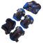 Роликовые коньки раздвижные в наборе защита, шлем, сумка JINGFENG SK-170 (31-42) (PL, PVC, колесо PU светящ., алюм., цвета в ассортименте) 14