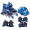 Роликовые коньки раздвижные в наборе защита, шлем, сумка JINGFENG SK-170 (31-42) (PL, PVC, колесо PU светящ., алюм., цвета в ассортименте) 16