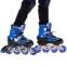 Роликовые коньки раздвижные в наборе защита, шлем, сумка JINGFENG SK-170 (31-42) (PL, PVC, колесо PU светящ., алюм., цвета в ассортименте) 19