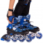 Роликовые коньки раздвижные в наборе защита, шлем, сумка JINGFENG SK-170 (31-42) (PL, PVC, колесо PU светящ., алюм., цвета в ассортименте) 20