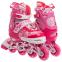 Роликовые коньки раздвижные в наборе защита, шлем, сумка JINGFENG SK-170 (31-42) (PL, PVC, колесо PU светящ., алюм., цвета в ассортименте) 25