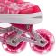 Роликовые коньки раздвижные в наборе защита, шлем, сумка JINGFENG SK-170 (31-42) (PL, PVC, колесо PU светящ., алюм., цвета в ассортименте) 28