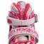 Роликовые коньки раздвижные в наборе защита, шлем, сумка JINGFENG SK-170 (31-42) (PL, PVC, колесо PU светящ., алюм., цвета в ассортименте) 29