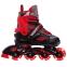 Роликовые коньки раздвижные JINGFENG SK-189 (31-42) (PL, PVC, колесо PU светящ., алюм., цвета в ассортименте) 0