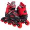 Роликовые коньки раздвижные JINGFENG SK-189 (31-42) (PL, PVC, колесо PU светящ., алюм., цвета в ассортименте) 2