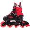 Роликовые коньки раздвижные JINGFENG SK-189 (31-42) (PL, PVC, колесо PU светящ., алюм., цвета в ассортименте) 5