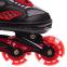 Роликовые коньки раздвижные JINGFENG SK-189 (31-42) (PL, PVC, колесо PU светящ., алюм., цвета в ассортименте) 7