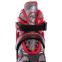 Роликовые коньки раздвижные JINGFENG SK-189 (31-42) (PL, PVC, колесо PU светящ., алюм., цвета в ассортименте) 8