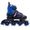 Роликовые коньки раздвижные JINGFENG SK-189 (31-42) (PL, PVC, колесо PU светящ., алюм., цвета в ассортименте) 12