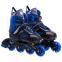 Роликовые коньки раздвижные JINGFENG SK-189 (31-42) (PL, PVC, колесо PU светящ., алюм., цвета в ассортименте) 13