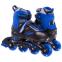 Роликовые коньки раздвижные JINGFENG SK-189 (31-42) (PL, PVC, колесо PU светящ., алюм., цвета в ассортименте) 14