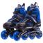 Роликовые коньки раздвижные JINGFENG SK-189 (31-42) (PL, PVC, колесо PU светящ., алюм., цвета в ассортименте) 15
