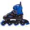 Роликовые коньки раздвижные JINGFENG SK-189 (31-42) (PL, PVC, колесо PU светящ., алюм., цвета в ассортименте) 17