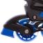Роликовые коньки раздвижные JINGFENG SK-189 (31-42) (PL, PVC, колесо PU светящ., алюм., цвета в ассортименте) 18
