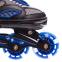 Роликовые коньки раздвижные JINGFENG SK-189 (31-42) (PL, PVC, колесо PU светящ., алюм., цвета в ассортименте) 19
