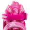 Роликовые коньки раздвижные JINGFENG SK-857 (31-42) (PL, PVC, колесо PU светящ., алюм., цвета в ассортименте) 8