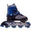 Роликовые коньки раздвижные JINGFENG SK-857 (31-42) (PL, PVC, колесо PU светящ., алюм., цвета в ассортименте) 14