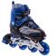 Роликовые коньки раздвижные JINGFENG SK-857 (31-42) (PL, PVC, колесо PU светящ., алюм., цвета в ассортименте) 15