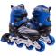 Роликовые коньки раздвижные JINGFENG SK-857 (31-42) (PL, PVC, колесо PU светящ., алюм., цвета в ассортименте) 17