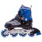 Роликовые коньки раздвижные JINGFENG SK-857 (31-42) (PL, PVC, колесо PU светящ., алюм., цвета в ассортименте) 19