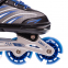 Роликовые коньки раздвижные JINGFENG SK-857 (31-42) (PL, PVC, колесо PU светящ., алюм., цвета в ассортименте) 21