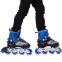 Роликовые коньки раздвижные JINGFENG SK-857 (31-42) (PL, PVC, колесо PU светящ., алюм., цвета в ассортименте) 26