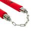 Нунчаку тренировочные соедененные цепью BO-3247 (пластик, неопрен, красный) 1