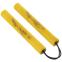 Нунчаку тренировочные соедененные шнуром ВО-5948 (пластик, неопрен, полиэстер, черный, желтый, красный, синий) 0