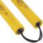 Нунчаку тренировочные соедененные шнуром ВО-5948 (пластик, неопрен, полиэстер, черный, желтый, красный, синий) 1